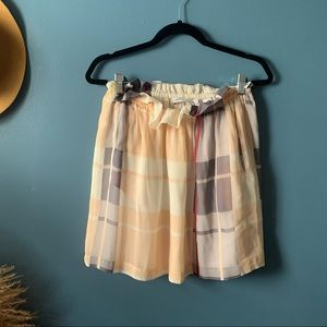 See by Chloe size 10 silk skirt